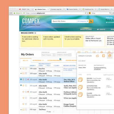 Compex Legal Services: Business transformation through User Experience