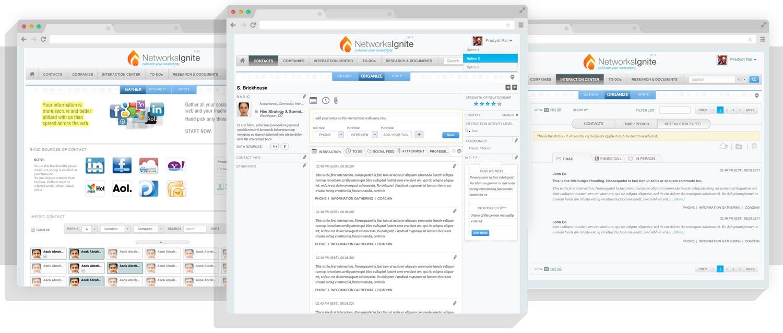 NetworkIgnite - social CRM