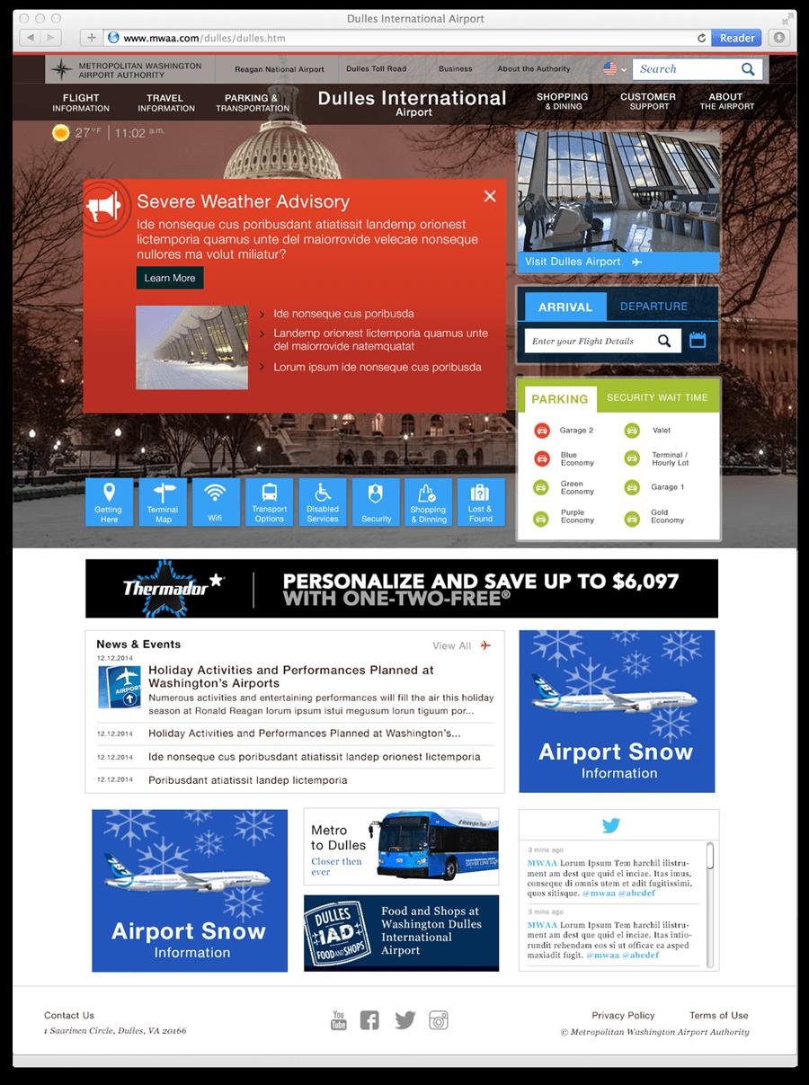 WMAA Prady HomePage Design 2