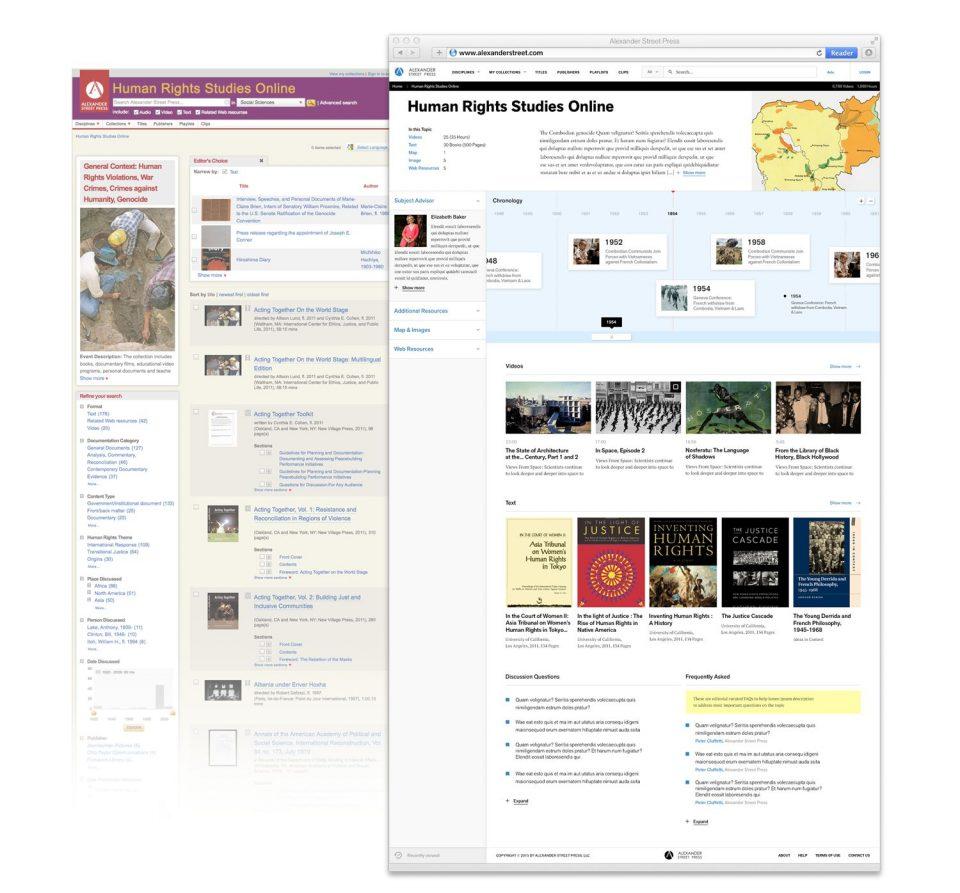 Improved Case Landing Pages