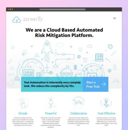 Zenverify.com: Product Identity & Communication Design