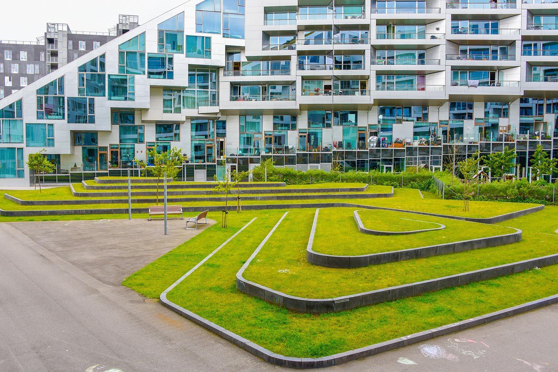 Bjarke Ingels' BIG Architecture in Denmark. Read More - http://www.visitdenmark.com/denmark/8tallet-gdk539319