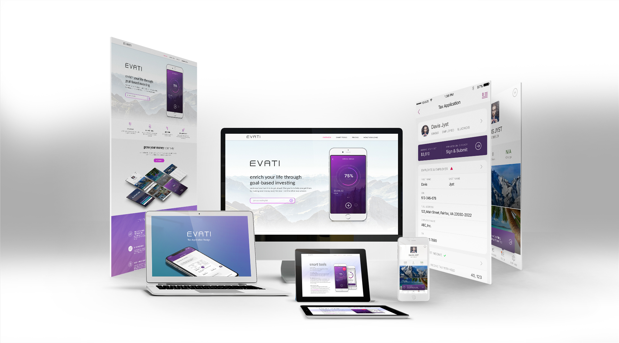 Evati-Web-Mobile-Showcase