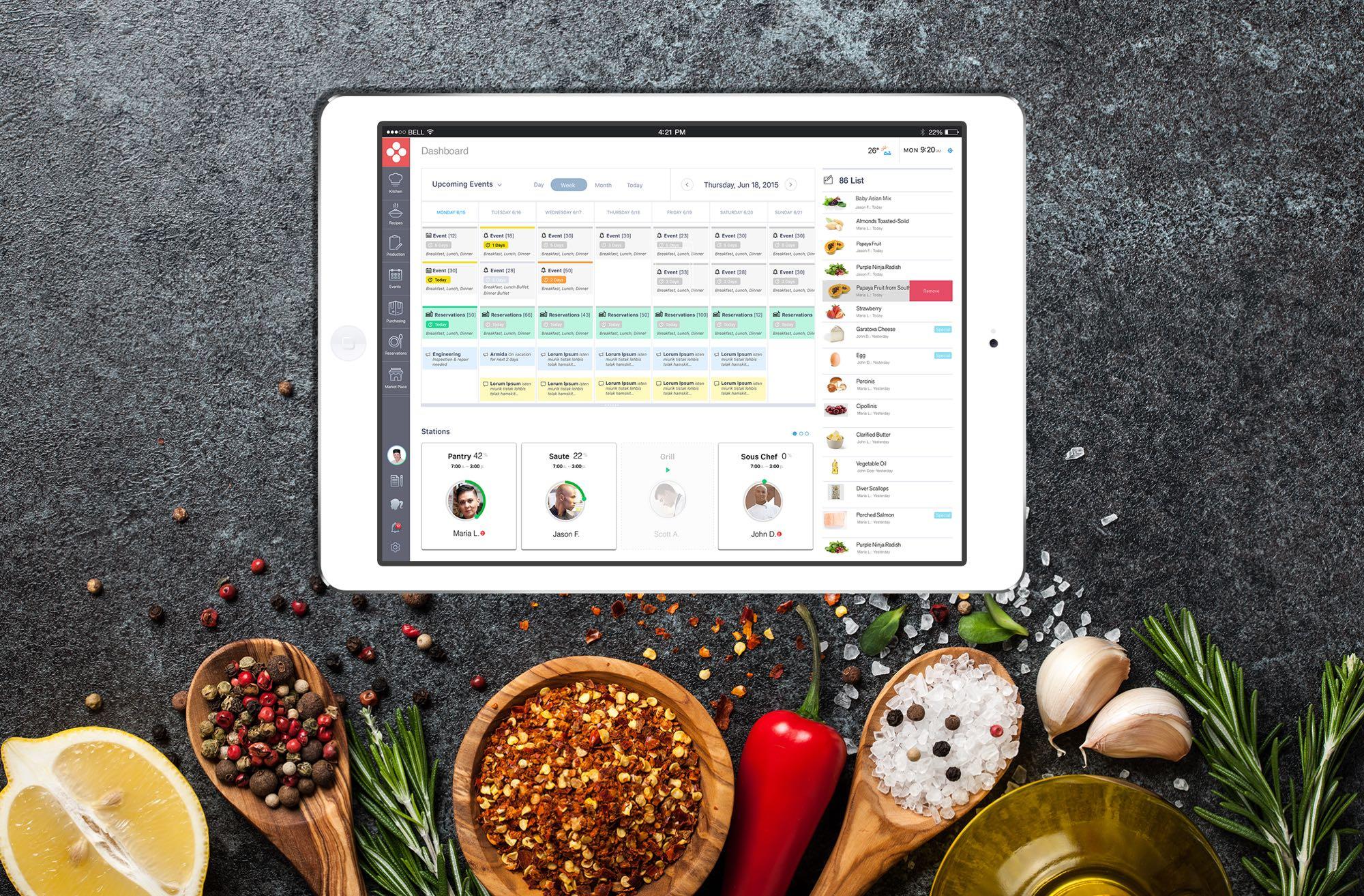 FoodApp_iPAD_App_3