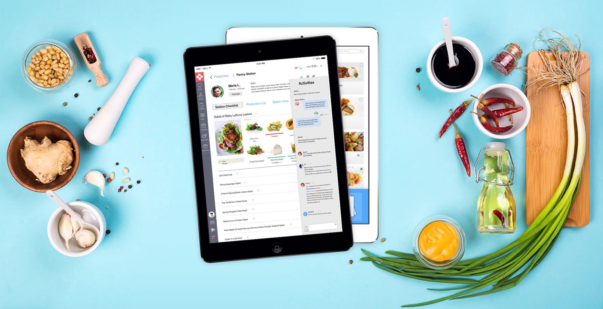 FoodTech: Commercial Kitchen Management Application | PRADY